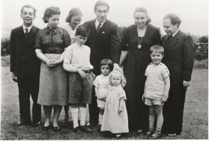 Photo of first group at Kirkton House 1939