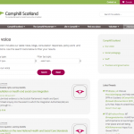 Camphill Scotland launches new website.