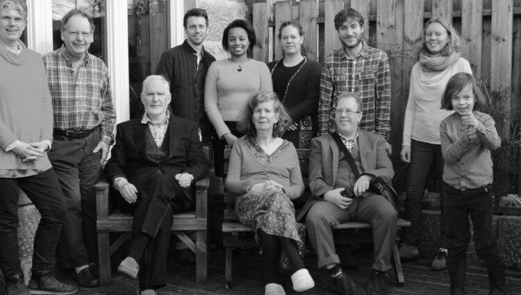 Family photo at Newton Dee