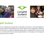 4 facts you might not know about Camphill in Scotland