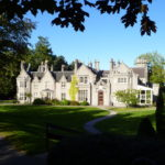 Large granite house and gardens