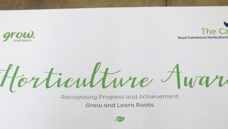 Horticultural Award headed paper